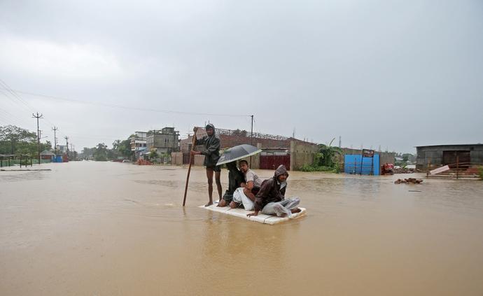为印度抗洪提供?#38469;?#25903;持,中国调度高分系列卫星给灾区拍照