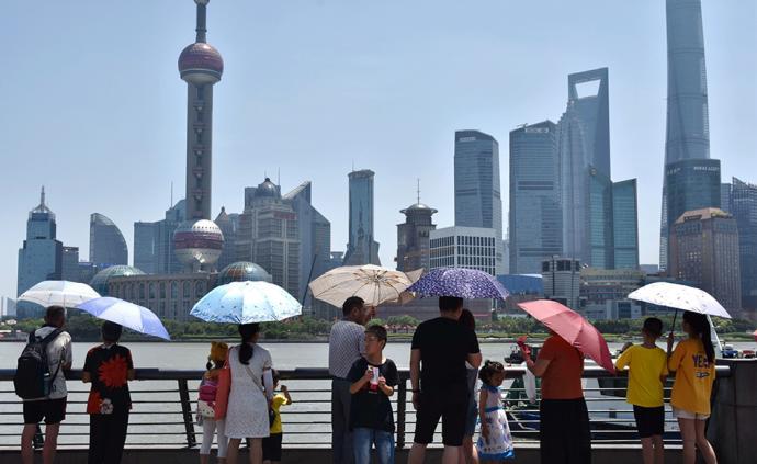 晚安·世界|热浪袭人:上海连续七天拉响高温黄色预警