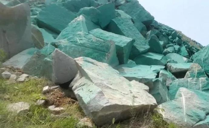 """馬上評 刷漆""""綠""""不了礦山,但可以""""黃""""了前程"""