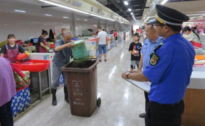 """整改8655起!上海城管公布生活垃圾分类""""满月考""""成绩单"""