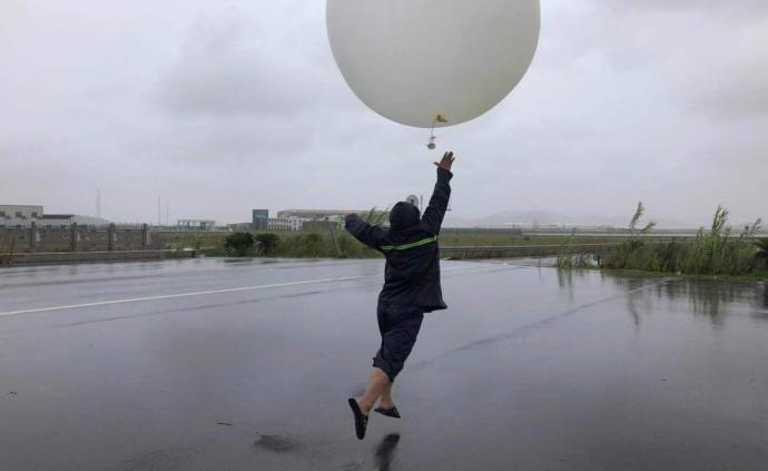 利奇馬逼近:觀測團隊在臺風環流內施放臭氧探空,系國內首次