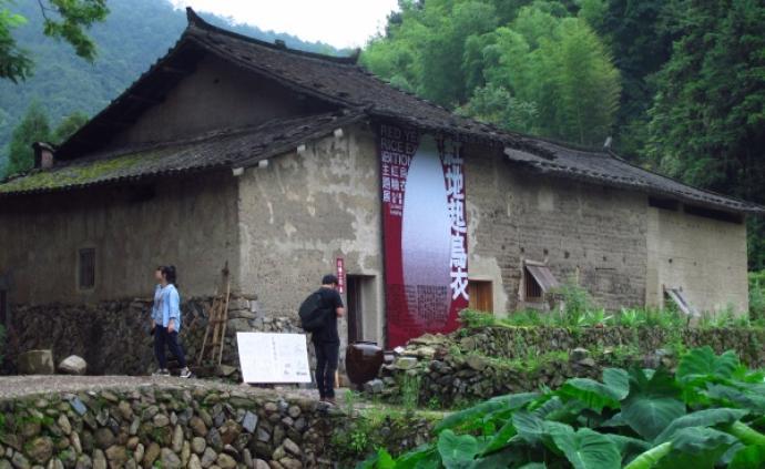 """在浙南山岙,看禳神、红粬展和""""烟火木偶"""""""