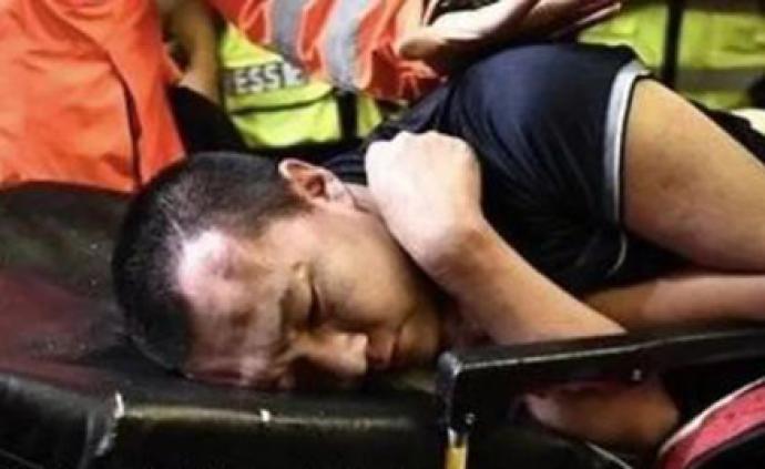 媒体刊文:暴力围殴记者践踏法治践踏人性