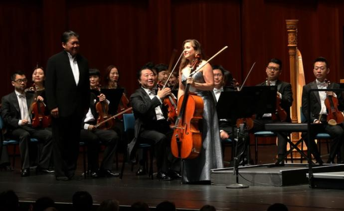 上海交响乐团亮声华盛顿,吹响140周年世界巡演号角