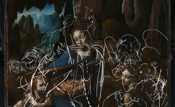 达·芬奇《岩间圣母》中发现新草图,作品将以沉浸式方式展出