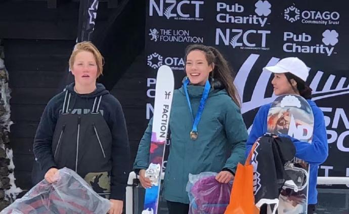 创历史!15岁谷爱凌滑雪赛夺冠,拿下中国归化选手首金