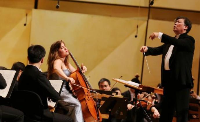 """美國拉維尼亞音樂節迎來上海交響樂團,聽一聽""""上海的聲音"""""""
