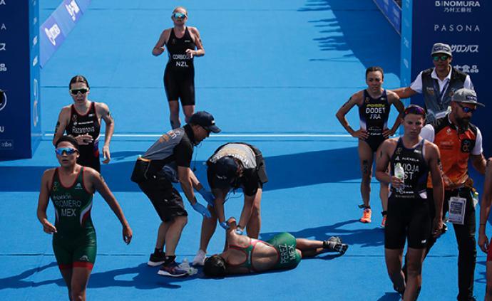 鐵人三項變兩項,多名選手中暑,炎熱成了東京奧運最大敵人