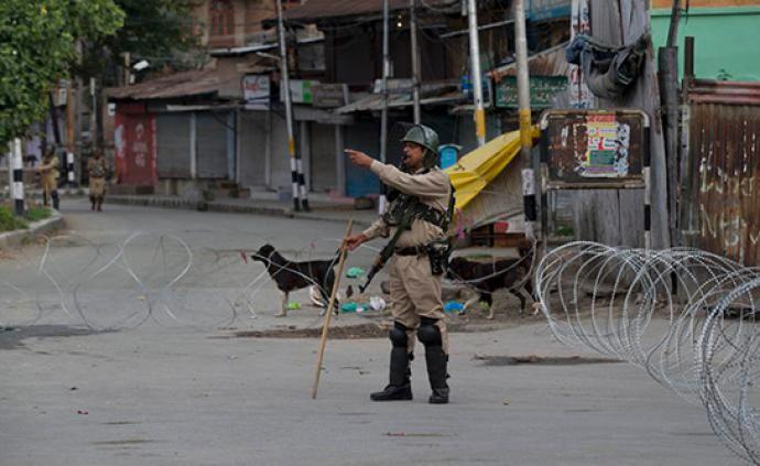 印媒:印控克什米尔地区部分学校复课,但报到学生人数不多