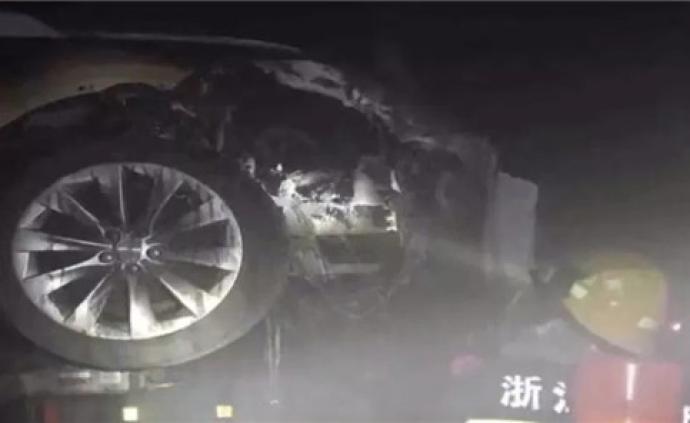 关于一辆Model S杭州起火?#24405;?#29305;斯拉给出了初步判定