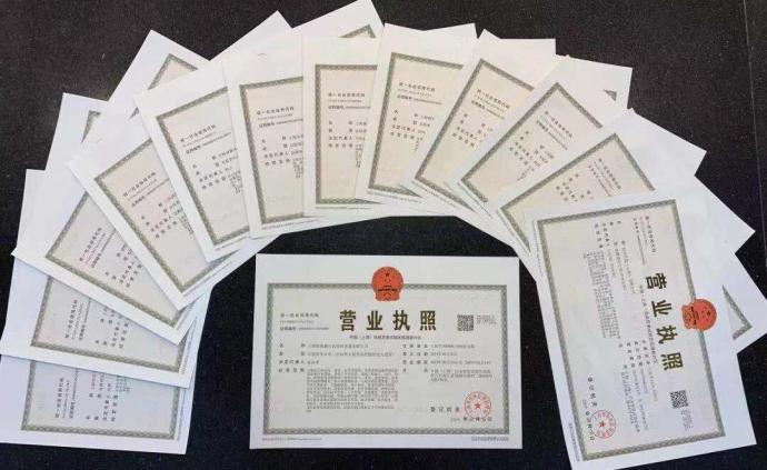 临港新片区揭牌首日,13家企业获颁新片区最新营业执照