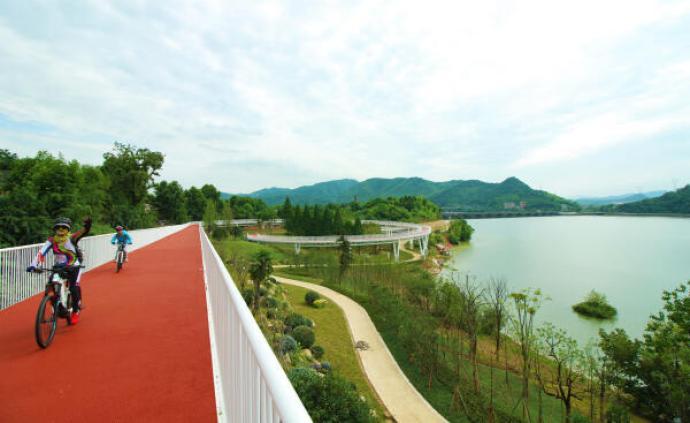 杭州拟三年新建一千公里绿道,亚运会举办前区域绿道全线贯通