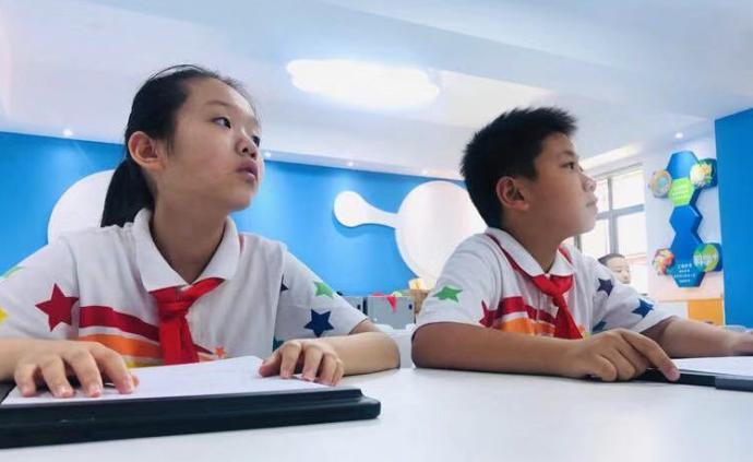"""如何大规模因材施教?上海这所小学每个孩子都有""""数字画像"""""""