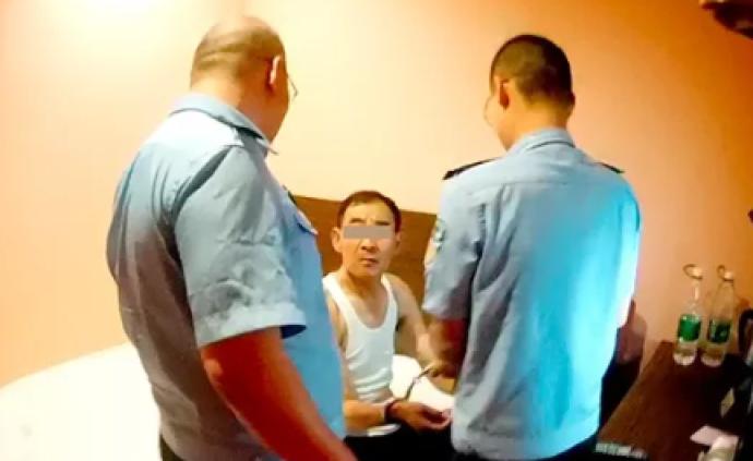 """男子自称局长找老农""""借""""200元,警方追缉两个月将其行拘"""