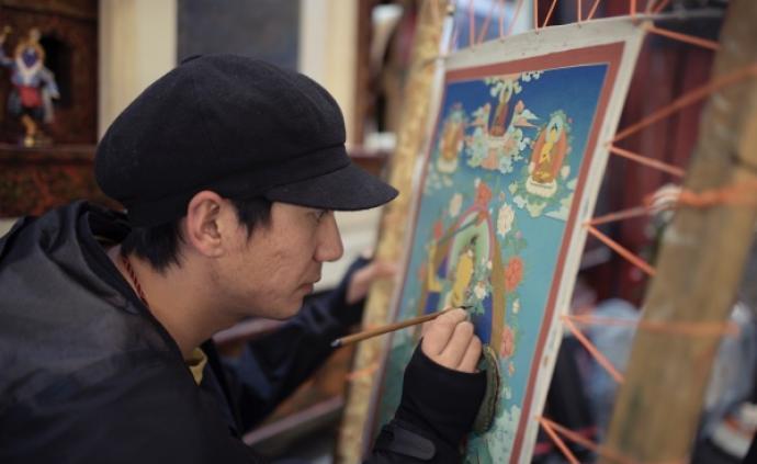 傳承者 | 專訪米書,一位回族的唐卡畫師