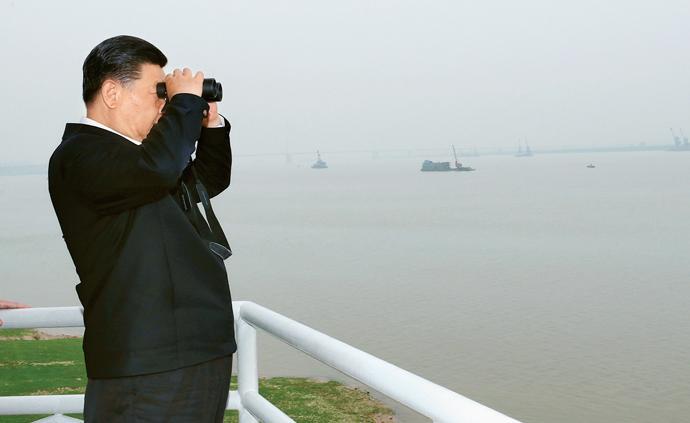 習近平:在深入推動長江經濟帶發展座談會上的講話