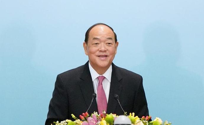 《澳門特別行政區公報》公布賀一誠當選為第五任行政長官人選