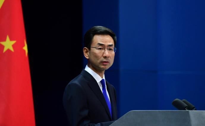 外交部:翟雋大使將擔任中國政府中東問題特使