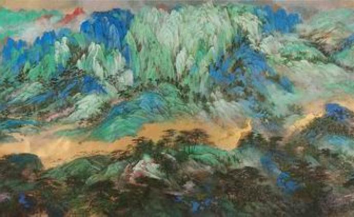 """從""""古雅大美""""師生展看上海山水畫的薪火相傳"""