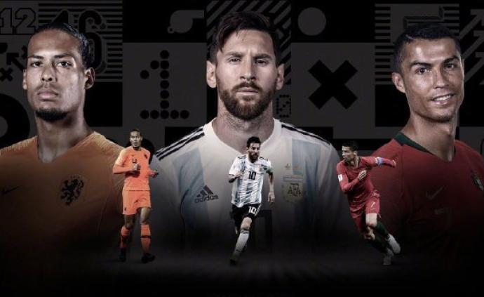 世界足球先生3人候選:C羅、梅西和范戴克