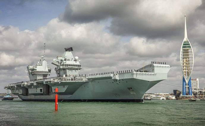 """英国""""伊丽莎白女王""""号航母再次远洋部署,将开展作战试验"""