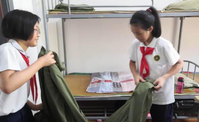 我们初中预备班的军训体验