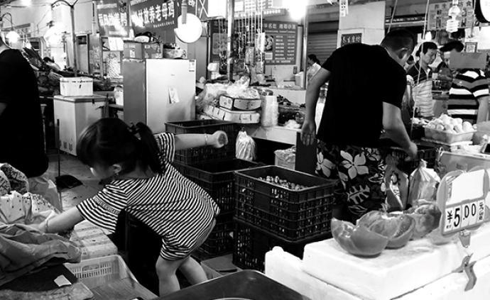 十字街头|菜场之夏