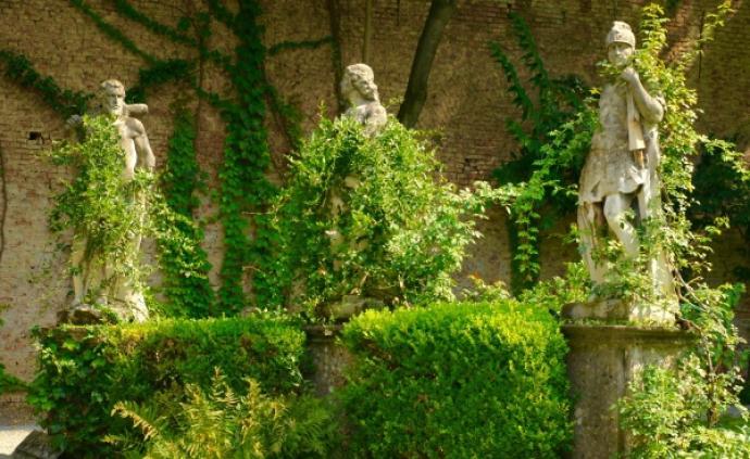 在米兰贵族的花园里,看看达·芬奇当年种过的葡萄