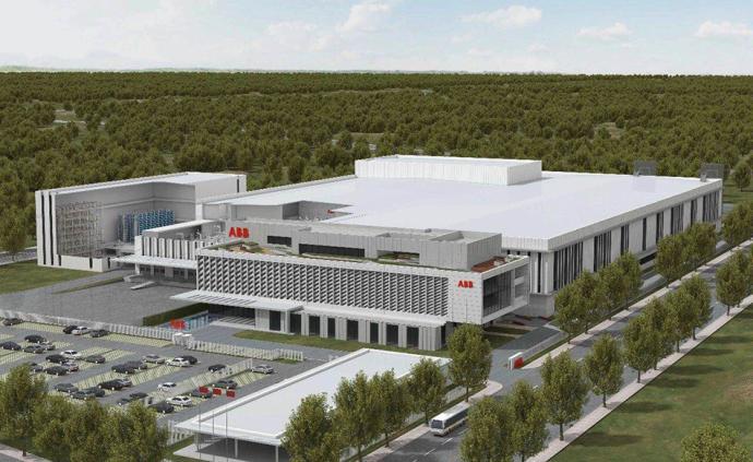 斥资10亿元!瑞士工业集团ABB机器人未来工厂在沪开工