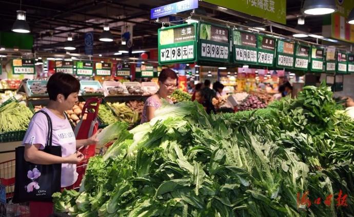??谠继?04家企业和市场,禁止趁中秋国庆哄抬肉菜价格