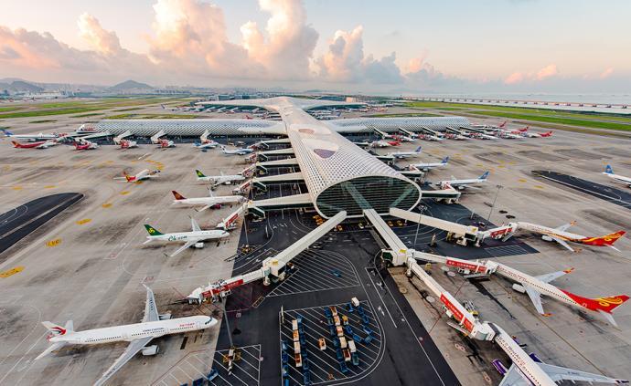 深圳机场8月客、货吞吐量增逾7%,航班起降架次增5.8%