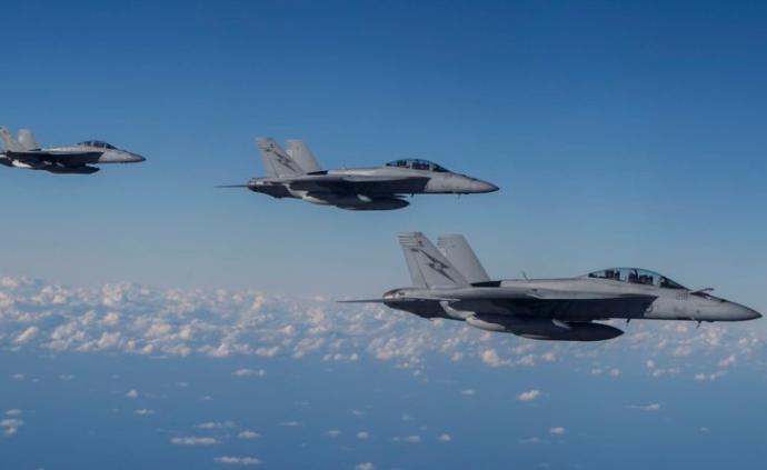 """日澳举行首次联合空中演习,推进打造""""准盟国""""防务关系"""