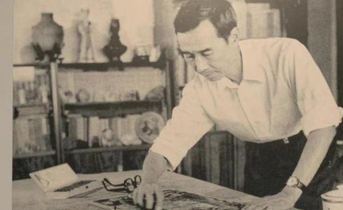 沈柔坚诞辰百年:他曾以木刻设计抗币,也用画笔纪录了新中国