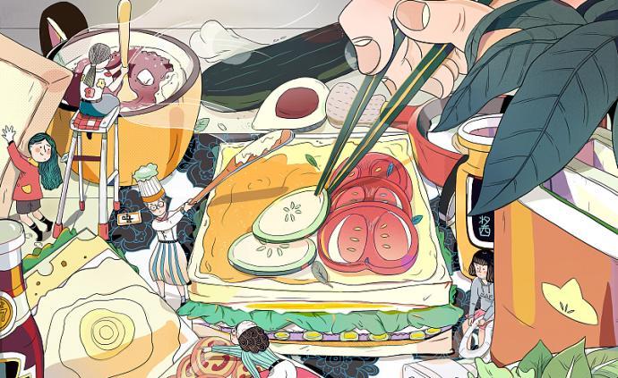 坐擁美食也不用面對人潮擁擠的你才是國慶長假真贏家