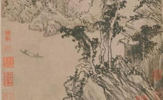 首博山水画展:宋代夏珪山水、元代《武夷放棹图》等现身