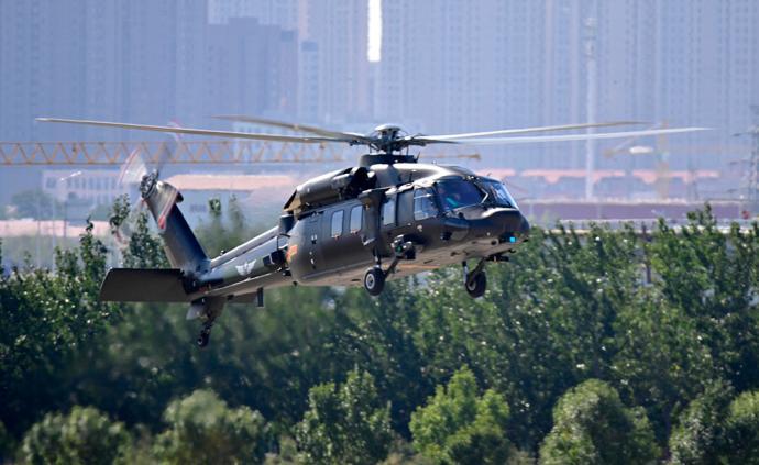 天津直升机博览会剧透:直-20直升机首次近距离与公众见面