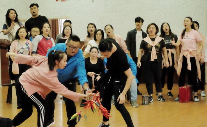 上海歌剧院开排歌剧《田汉》:不做伟人颂,有生活底色