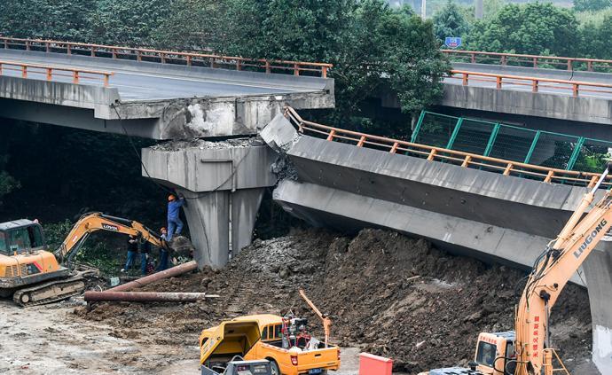 獨柱墩橋梁是否存在安全缺陷?新華社四問無錫高架橋側翻事故
