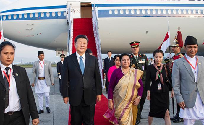 獨家視頻丨習近平抵達加德滿都開始對尼泊爾進行國事訪問