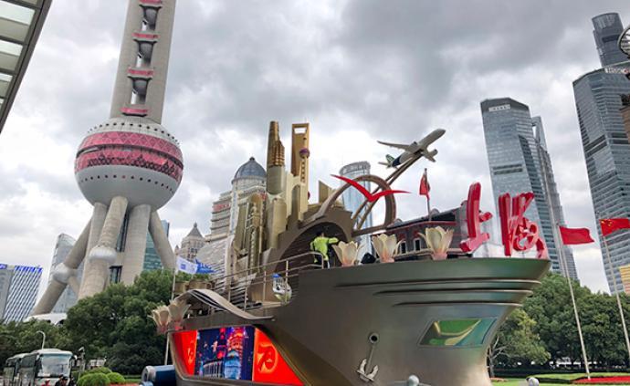 """20座建筑全3D打印,""""奮進上海""""彩車今起向公眾展示"""