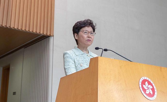 香港特首舉行發布會,指外國政客表態罔顧事實