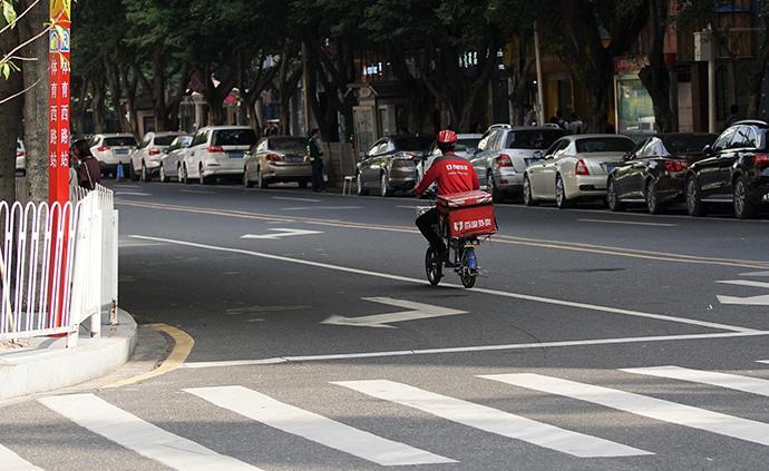 深圳:快遞員一月4次交通違法將停駛一年