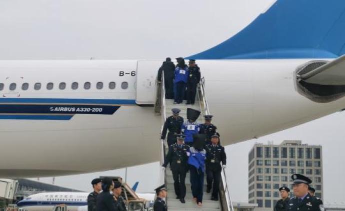 136名電信網絡詐騙嫌犯被押解回國,1200余起案件告破