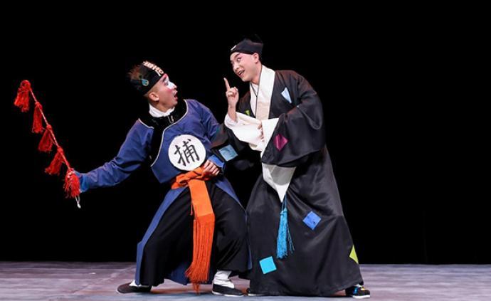 小剧场京剧演绎欧·亨利与契诃夫,年轻人有了空间做海派京剧