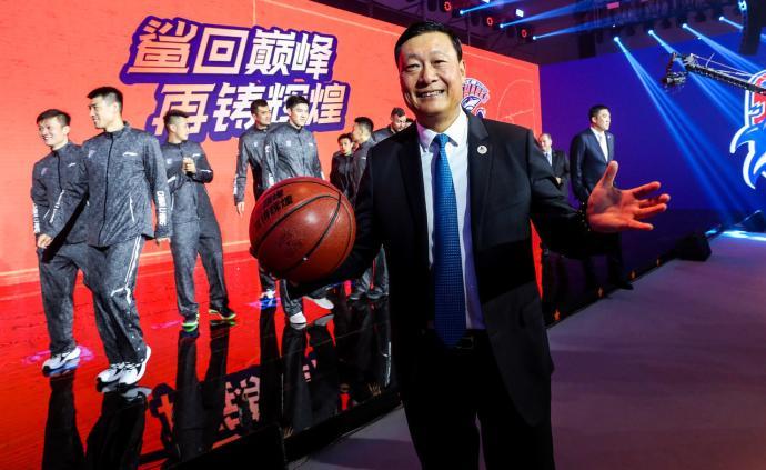 多元化形象!上海男籃進入久事時代,這才是職業球隊的模板
