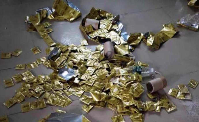 """内蒙古查获7吨减肥""""毒咖啡"""",犯罪链条涉20余省区市"""