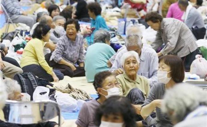 """臺風""""海貝思""""已致日本36人死亡,17人失蹤"""