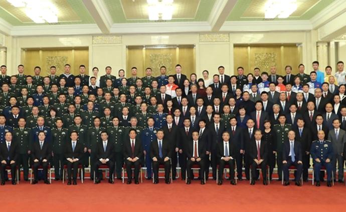 习近平亲切会见国庆70周年庆祝活动筹办工作有关方面代表