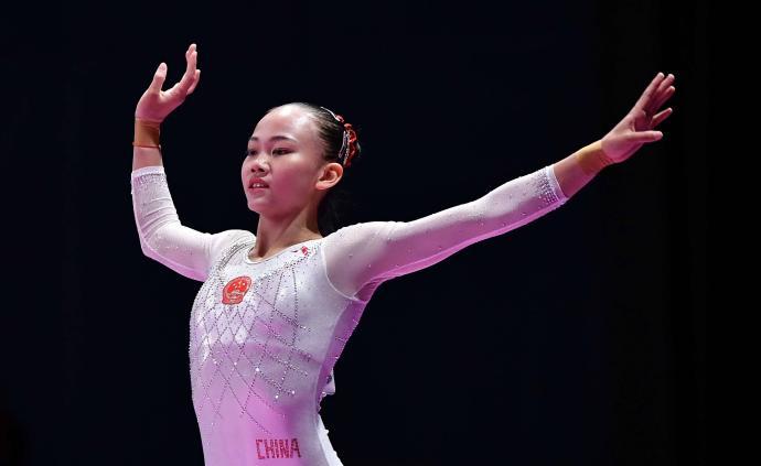 體操運動員陳一樂獲2018年亞運會最佳女運動員獎