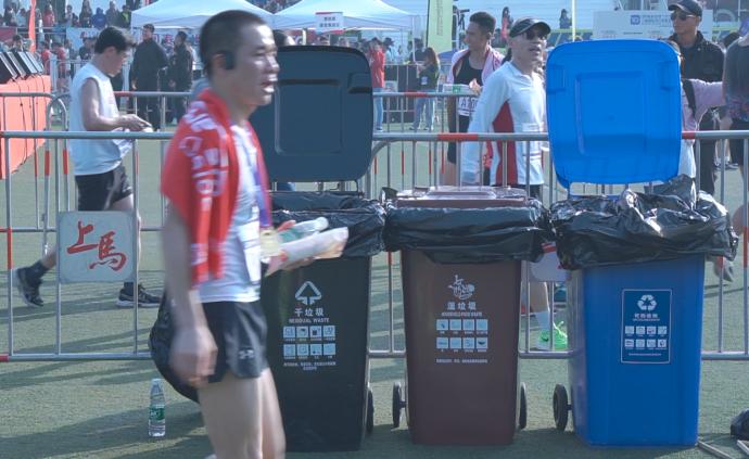 这个路跑赛不一样,垃圾分类是特色